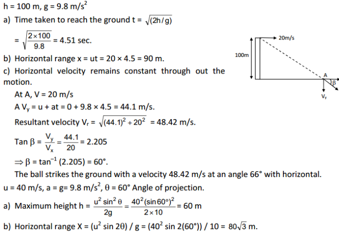 Rest and Motion Kinematics HC Verma Concepts of Physics Solutions