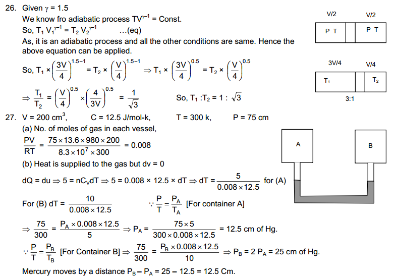 Specific Heat Capacities of Gases HC Verma Concepts of Physics Solutions