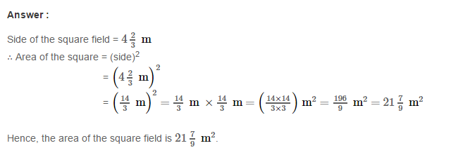 Fractions RS Aggarwal Class 7 Maths Solutions Exercise 2B