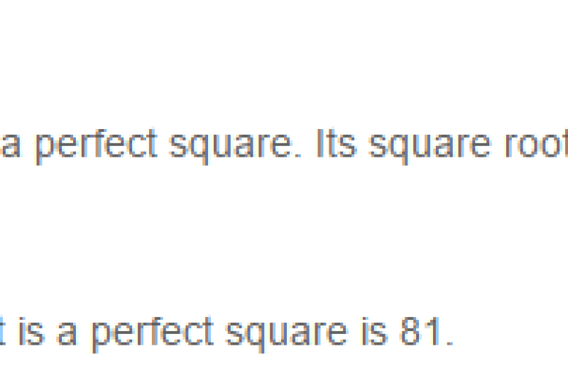 Squares and Square Roots RS Aggarwal Class 8 Maths Solutions Exercise 3A pdf